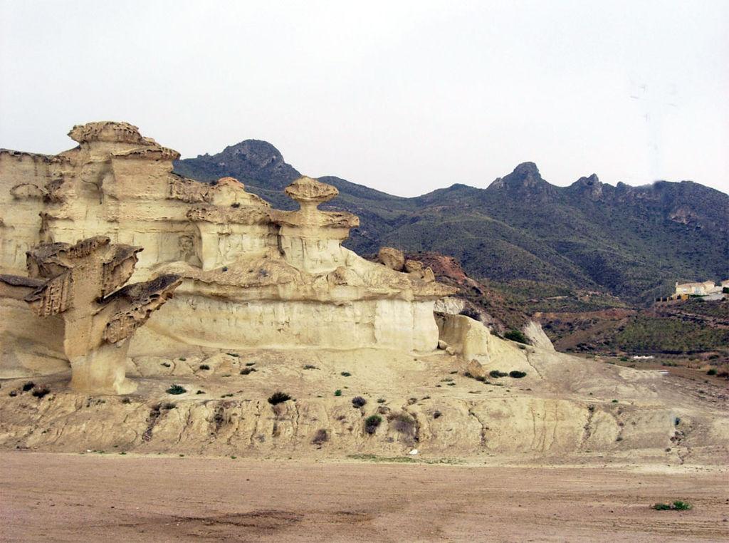 Sierra de las Moreras, cerca de Mazarrón (Murcia). Por Nioger.