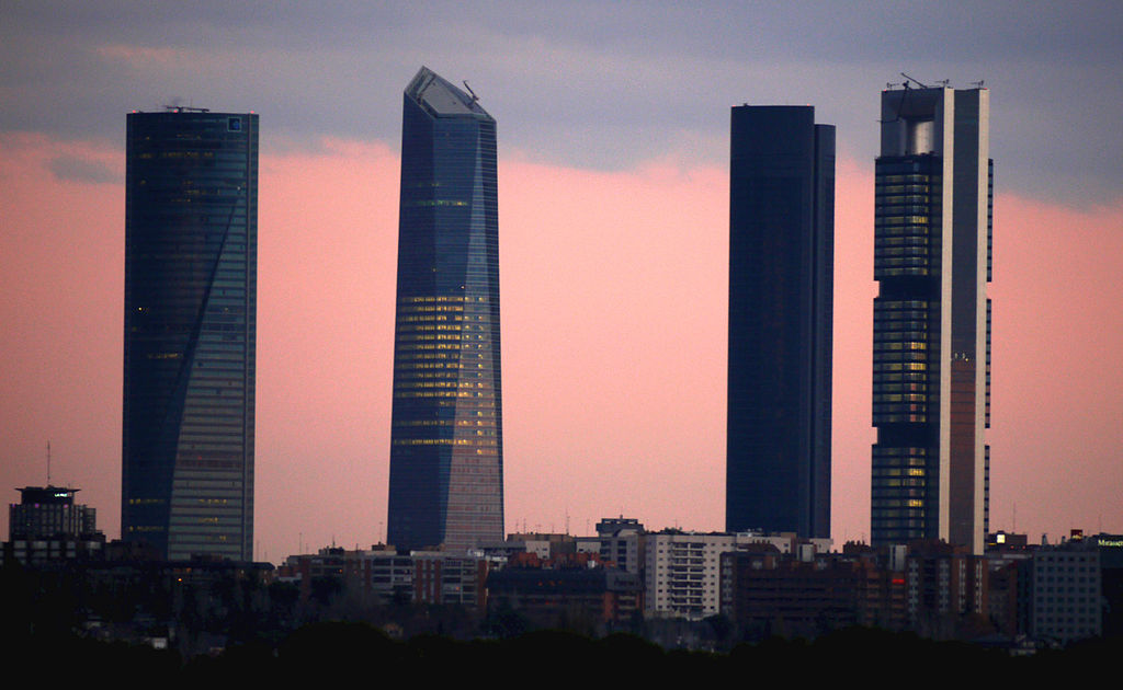 Las cuatro torres (Madrid)