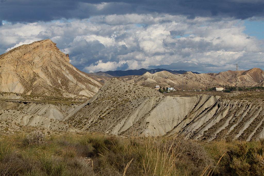 Desierto de Tabernas en Almería. Por Roy Luck