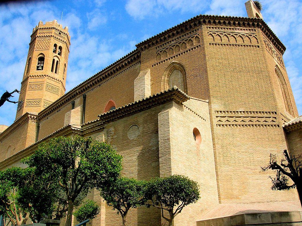 Iglesia de Santa María en Tauste (Zaragoza). Por Zarateman