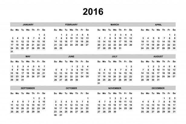 2016-calendario