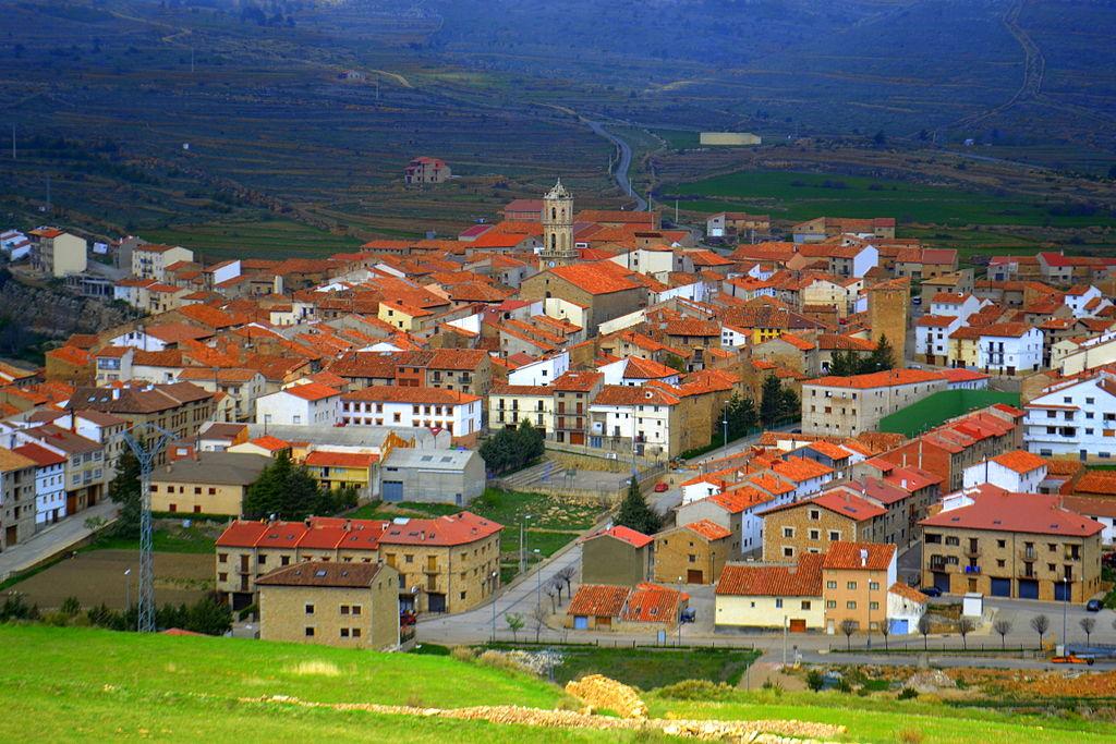Mosqueruela (Teruel). Por Angela Llop. Pinchar en la foto para verla más grande.