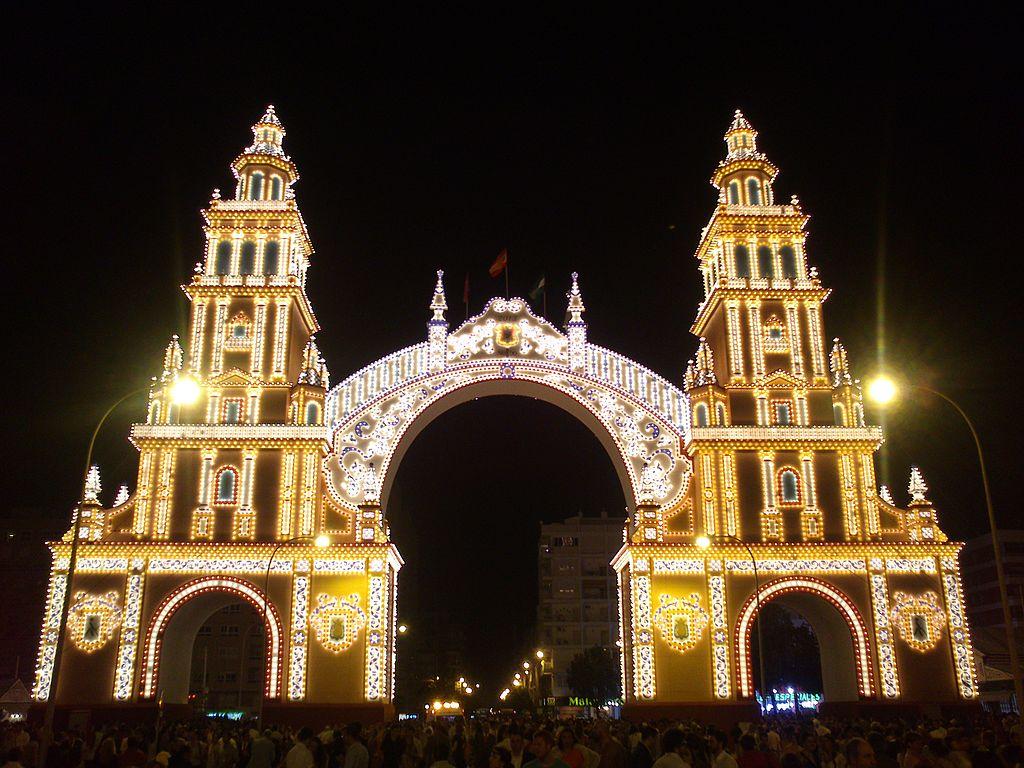 Portada de la Feria de Abril 2013 de Sevilla. Por Agustín Macías