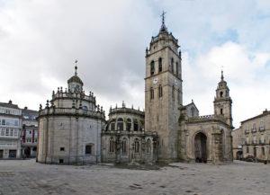 Catedral de Santa María de Lugo. Por Antonio Costa.