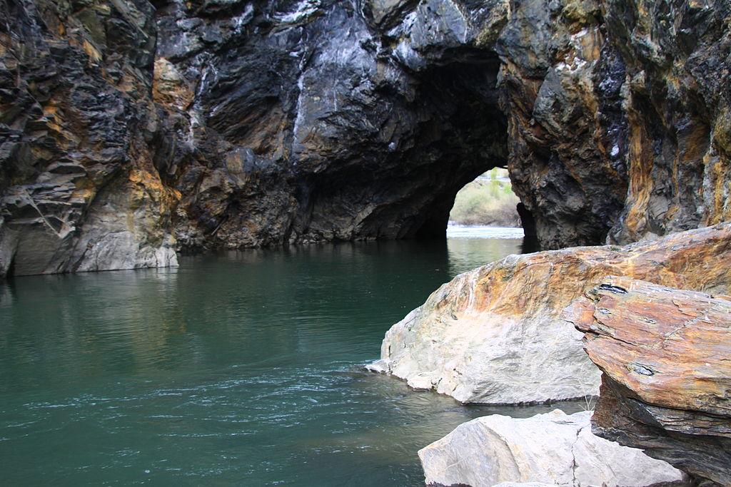 Río Sil en Montefurado, Quiroga (Lugo)