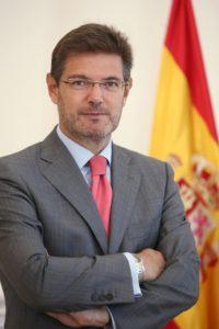 Rafael Catalá Polo, Ministro de Justicia