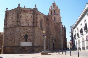 Iglesia de La Purificación de Almendralejo (Badajoz). Por Creative Commons.