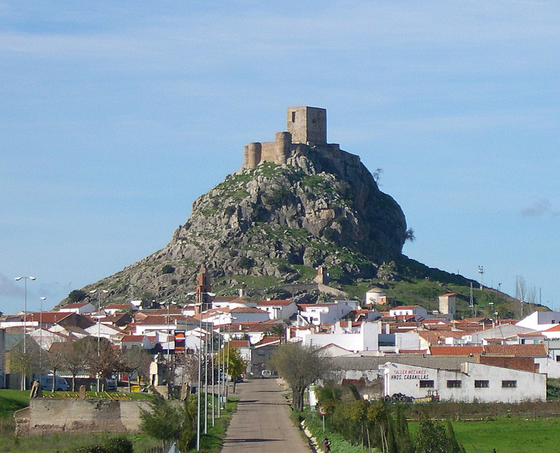 Castillo de Bélmez (Córdoba). Por Rafaelji