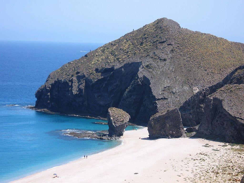 Playa de los Muertos en Carboneras (Almería). Por isol