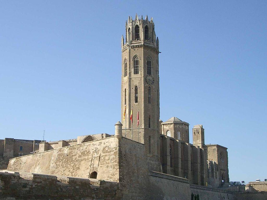 La Seu Vieja (Lleida). Por Blorg