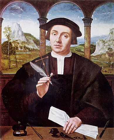 Notario Civil. Retrato por Quentin Matsys (1456/1466–1530) National_Gallery_of_Scotland