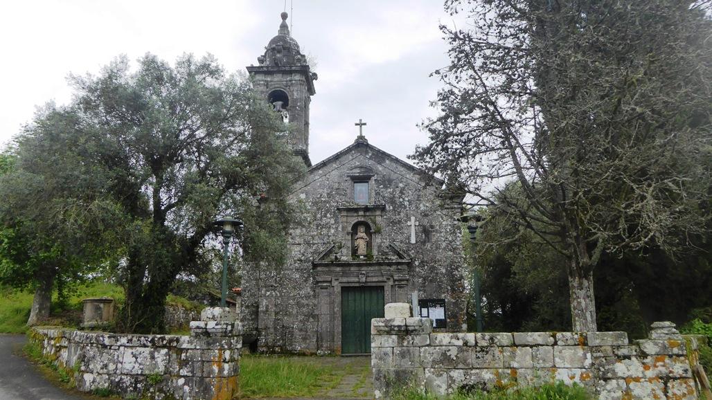 Ermita gallega. Por Silvia Núñez.