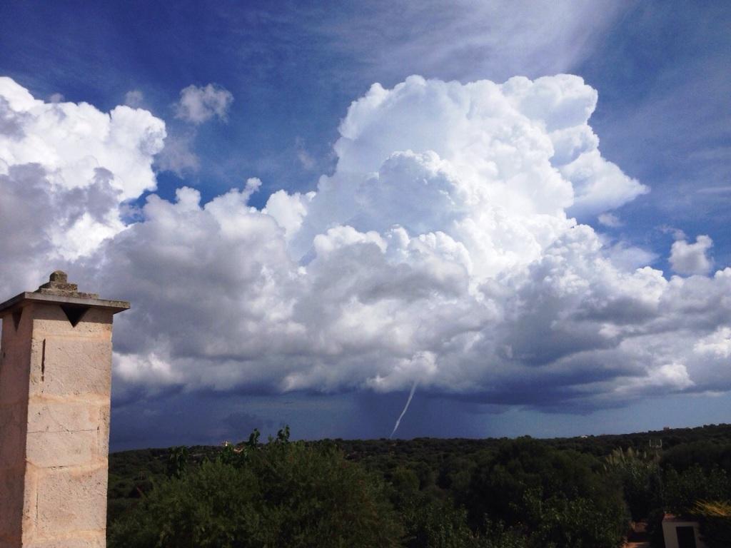 Tornado en Menorca. Por Silvia Núñez.