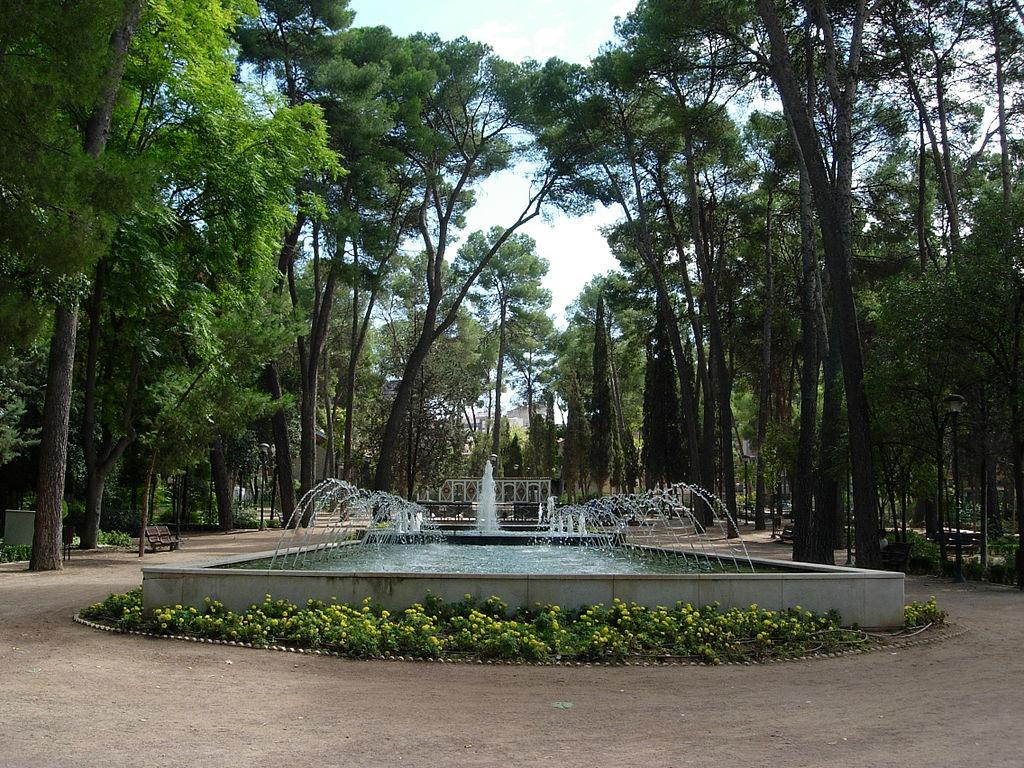 Parque Abelardo Sánchez de Albacete. Por Héctor S. Marqueño Collado.
