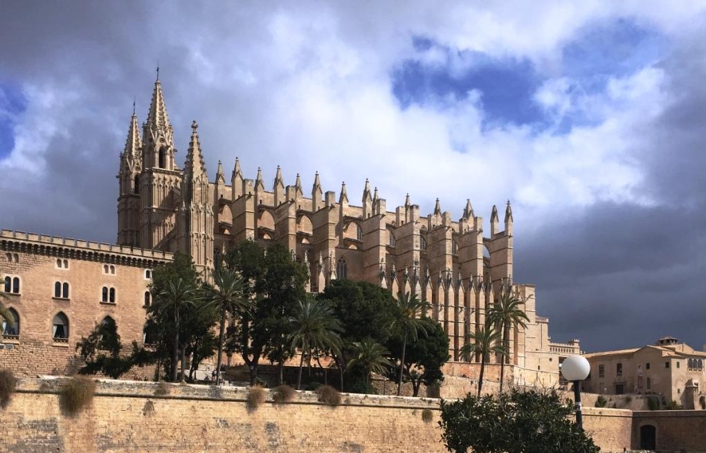 Catedral de Palma de Mallorca. Por Silvia Núñez.