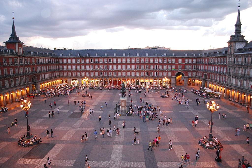 Plaza Mayor de Madrid. Por Sebastian Dubiel.