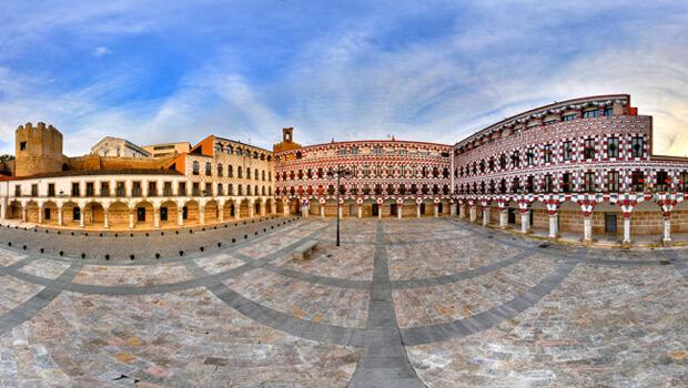 Plaza Alta de Badajoz.