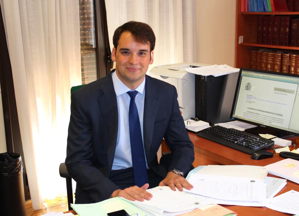 Gabriel López Samanes, el abogado del estado más joven.