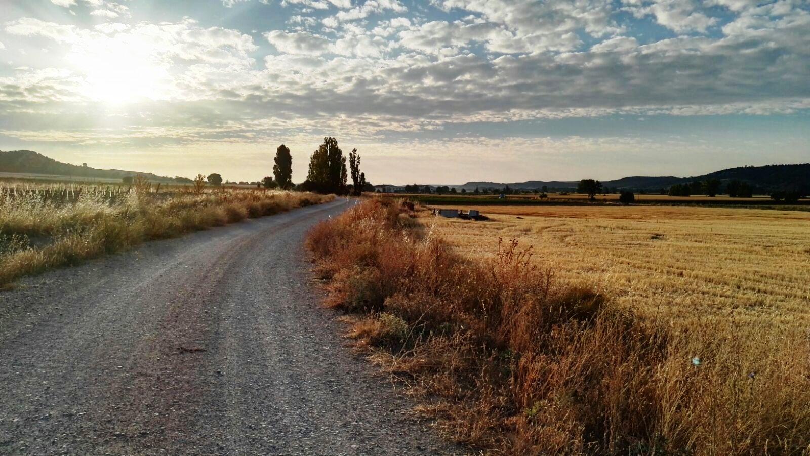 Paisaje rural en Valladolid, por Rafael Iborra