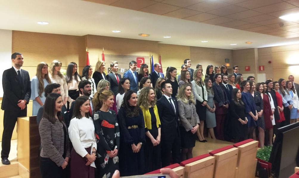 Jura del cargo de la Promoción 2016 - 2017 de Registradores