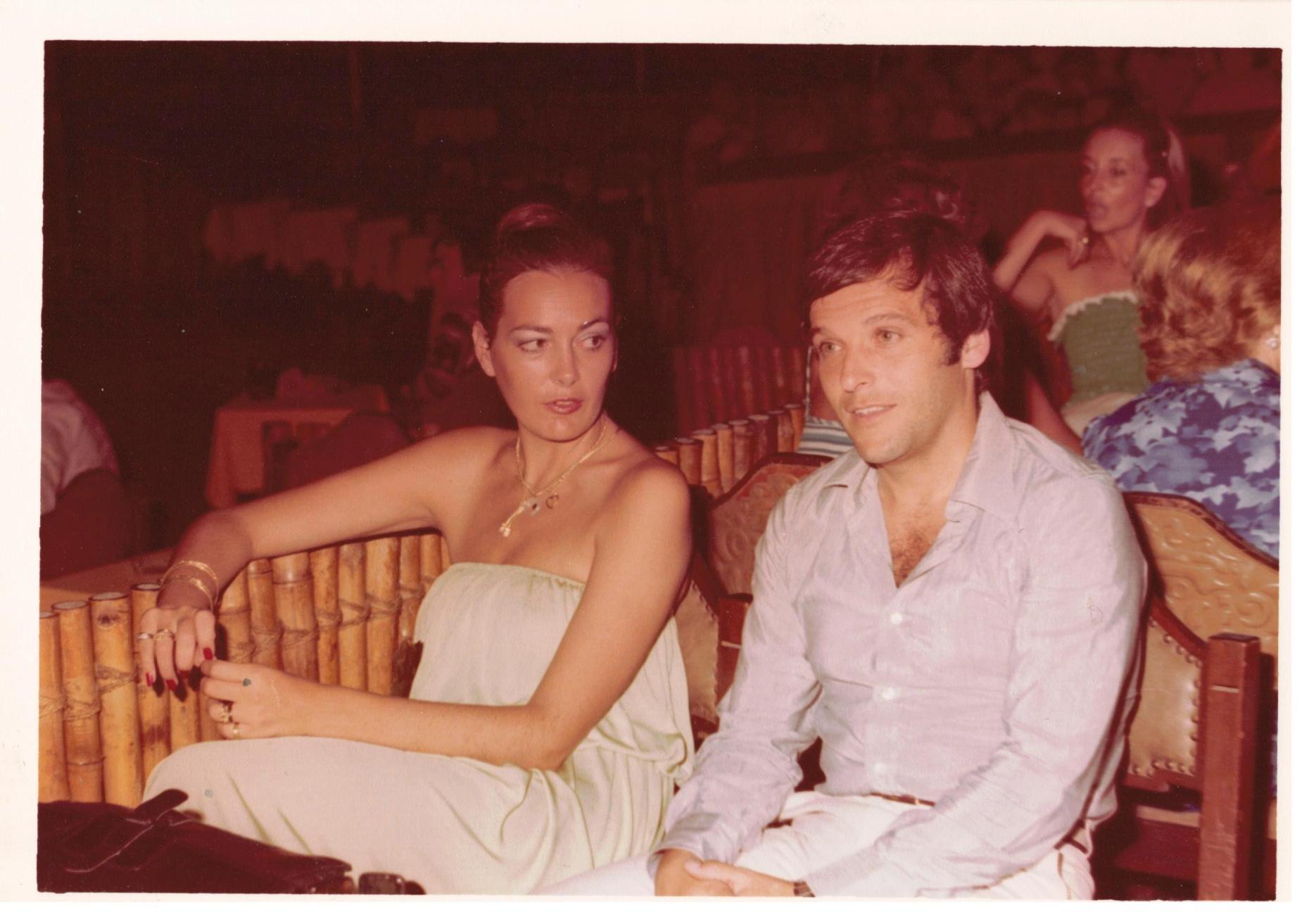 María Ángeles y Juan José durante un viaje por México (en Acapulco)